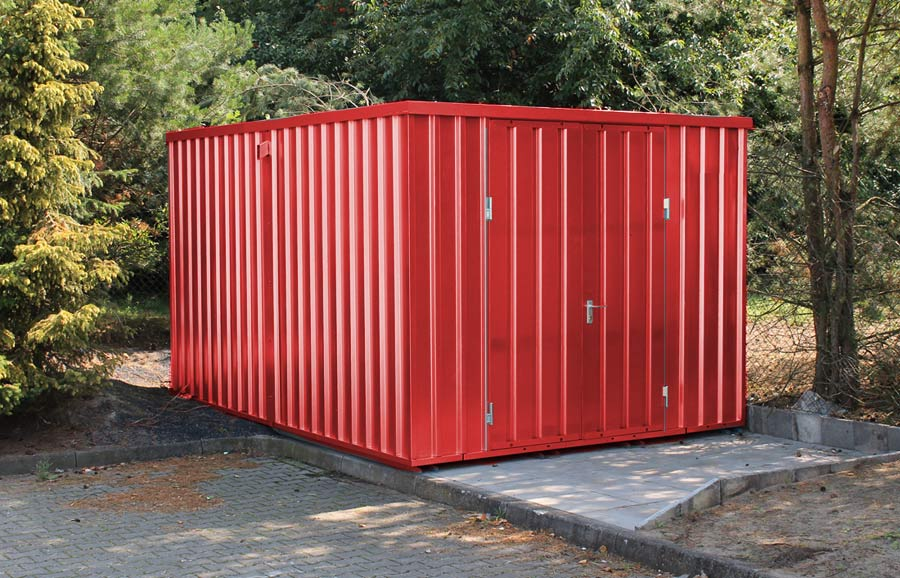 schnellbaucontainer kaufen materialcontainer. Black Bedroom Furniture Sets. Home Design Ideas