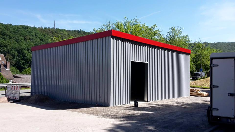 technik ma e ausstattung lagerhallen la 3500 4500 schnellbauhallen lagerhallen. Black Bedroom Furniture Sets. Home Design Ideas