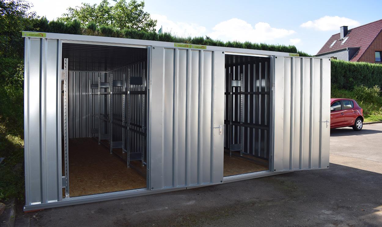lagerhallen la 2400 containerhallen lagerhallen g nstig bauen produkte. Black Bedroom Furniture Sets. Home Design Ideas