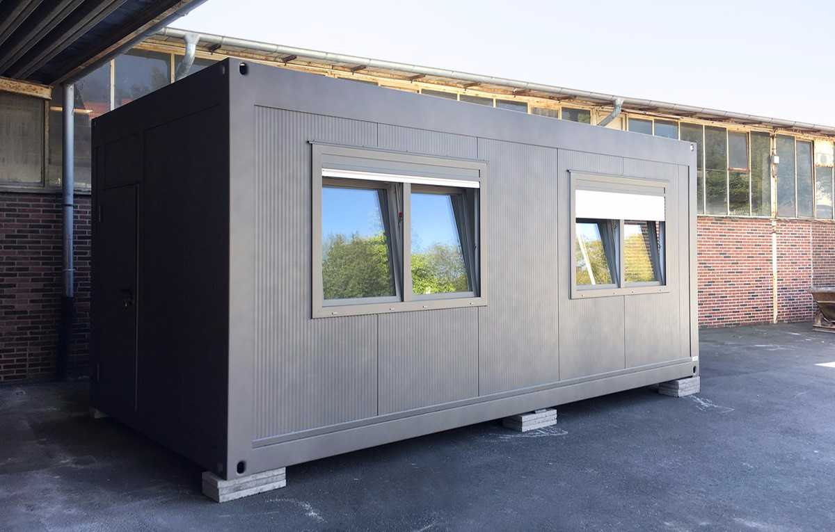 Burocontainer Burocontainer Raummodule Produkte Hacobau