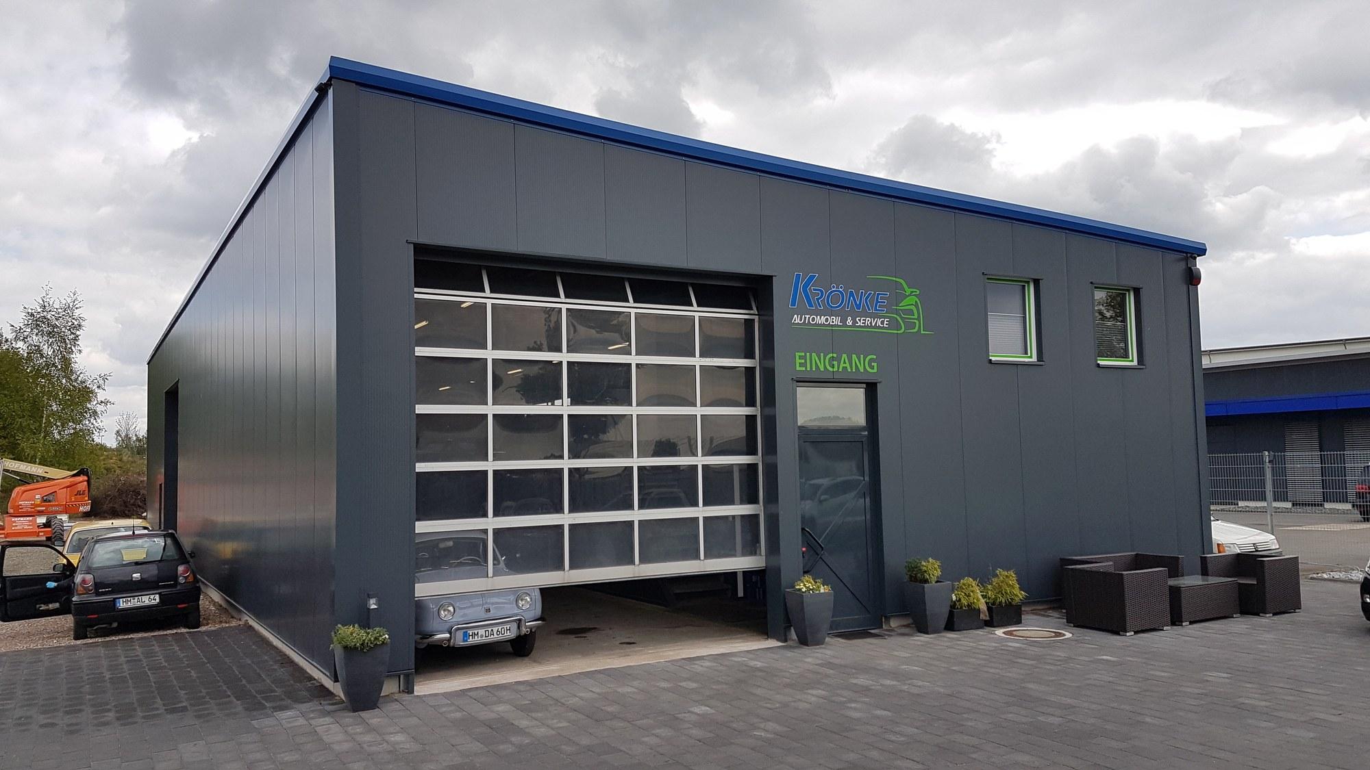 Geliebte Werkstatthalle bauen - Hallenbau individuell - Hacobau GmbH #UR_39