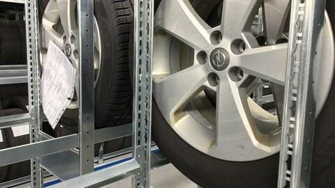 Reifenlagerung für Autohäuser, KFZ Betriebe und Reifenhändler