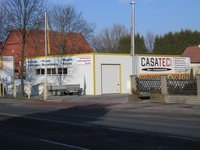Lagerhalle isoliert Firma Casatec bei Hannover