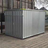 Materialcontainer 3m x 2m verzinkt