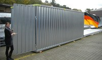 Materialcontainer 6m x 2m verzinkt