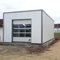 Werkstatthalle günstig bauen dank Systembauweise.