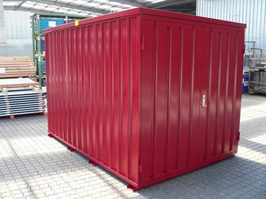 Lagercontainer Schnellbaucontainer Baucontainer