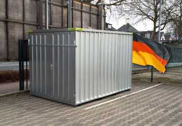 Materialcontainer Lagercontainer Schnellbaucontainer Baustellencontainer