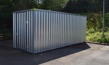 Materialcontainer 2 x 6m verzinkt