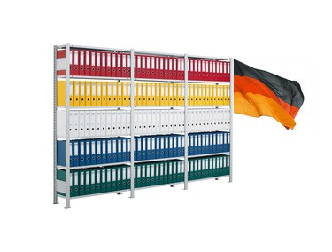 Archivregale und Büroregale ab Hersteller.