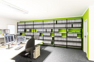 Büroregale - Ordnerregale - Aktenregale - Archivregale - Regalsysteme