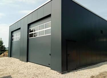 fahrzeughallen f r feuerwehr rettungsdienste und gewerbe. Black Bedroom Furniture Sets. Home Design Ideas