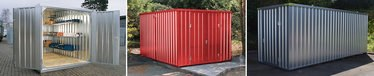 Lagercontainer, Materialcontainer und Baucontainer made in germany