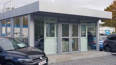 Verkaufspavillon Verkaufscontainer Büropavillon günstig bauen