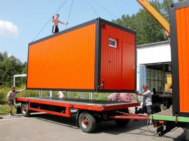 Bürocontainer in Standardausführung