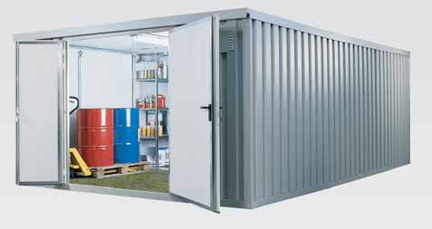 isolierte Lagercontainer und isolierte Materialcontainer - Container ...